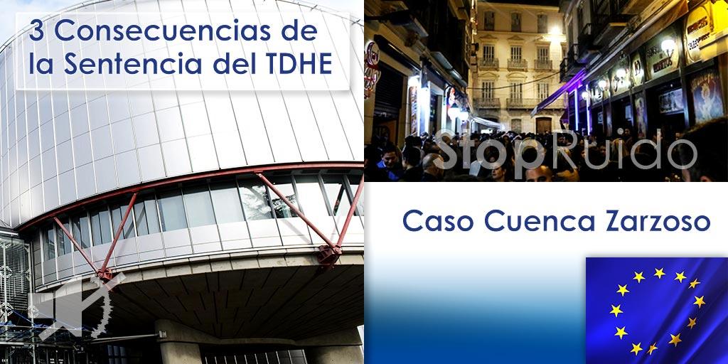 Consecuencias prácticas para el que padece ruido, de la sentencia del TDHE que condena a España por ruidos