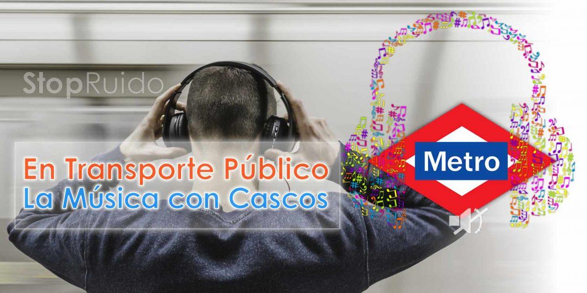 Molestias por Ruidos y Música en Metro, Autobús, Tren: Entrevista